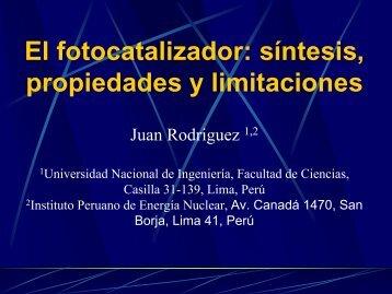 El fotocatalizador: síntesis, propiedades y limitaciones