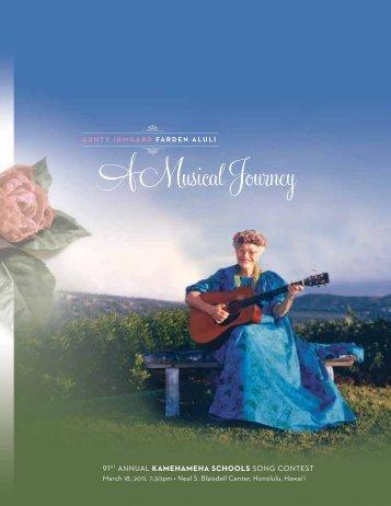 Aunty Irmgard Farden Aluli: A Musical Journey - Kamehameha ...