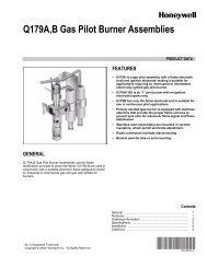 60-2032-4 - Q179A,B Gas Pilot Burner Assemblies