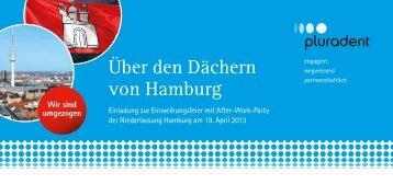 Über den Dächern von Hamburg - Pluradent