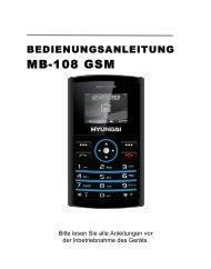 MB-108 GSM - Hyundai Technologies