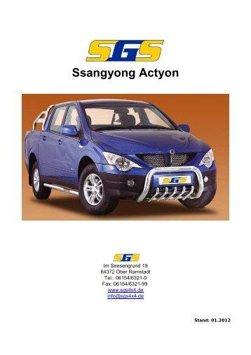 Ssangyong Actyon - SGS