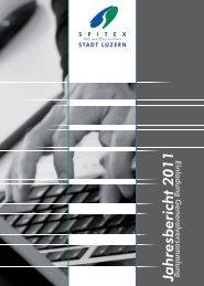 Jahresbericht 2011 - Spitex Luzern