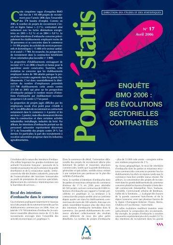 Point statis n°17 avril 2006 - Le Monde