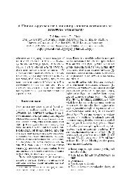 A Unified Approach for Combining Different Formalisms for ...