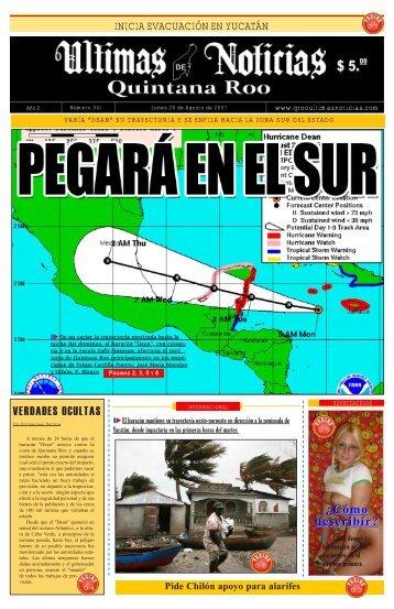 20 - Ultimas Noticias Quintana Roo