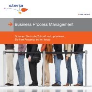 Business Process Management - Steria