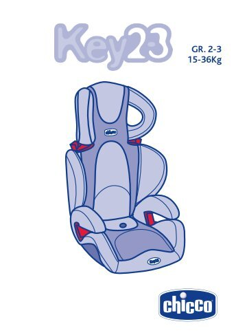 Автокресло Key 2/3 - Chicco