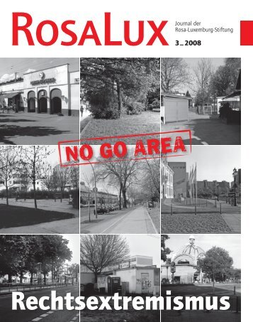 """rosalux"" 3/2008 - Rosa-Luxemburg-Stiftung"
