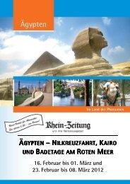 RZ_Aegypten mit Kairo_16.02. und 23.02 ... - rz-Leserreisen