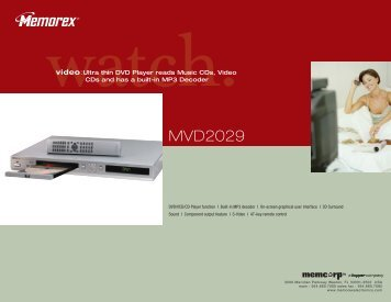 MVD2029 - TriStar Distributing