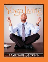 Selfless Service On - Yoga Living Magazine