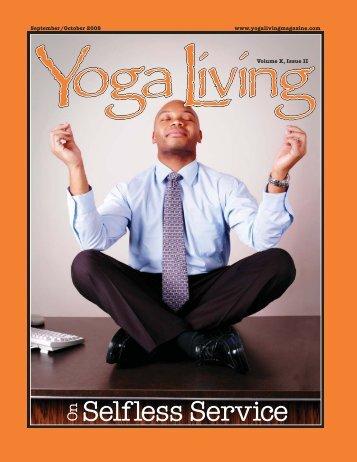 Selfless Service On - Yoga Living Magazine