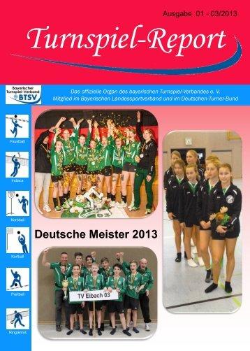 01-03/2013 - Bayerischer Turnspiel- Verband