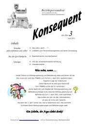 Infoblatt 3 - Juni 2011 - Staatliches Schulamt Südthüringen