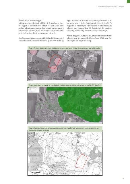 Miljøscreening af graveområde D3, Ryegård i Frederikssund ...