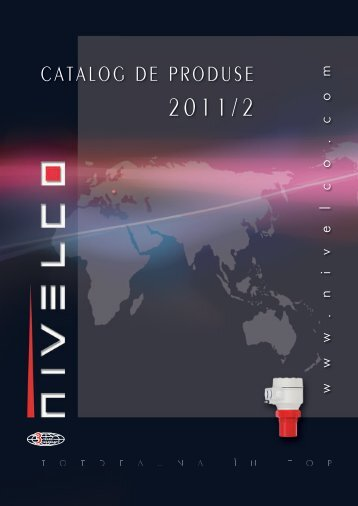 download catalog de produse - Nivelco Process Control Co., Inc.