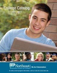 College Catalog - Northeast Wisconsin Technical College