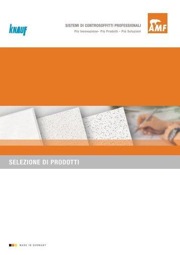 Soffitti in fibra minerale AMF Thermatex - NOVITA - Knauf