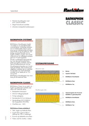 BASWAphon Classic systemblad - Rockidan