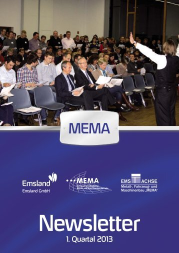 Programmheft 01/2013 - MEMA