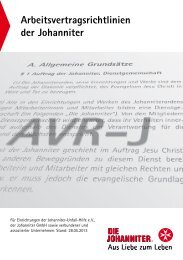 Anlage 4 - Die Johanniter