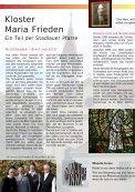 """Kloster: """"Maria Frieden"""" - Ein Teil der Pfarre Stadlau Im Gespräch - Seite 4"""