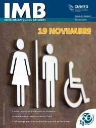 IMB - novembre 2009 - CMMTQ