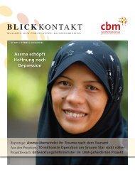 Besuchen Sie uns auch im Internet: www.cbm.de - Christoffel ...