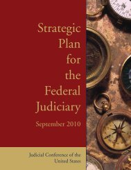 Strategic Plan for the Federal Judiciary - U.S. Courts