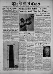 The Cadet. VMI Newspaper. March 18, 1957 - New Page 1 [www2 ...