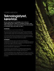 Teknologistyret, kørerklar. - Trek Bicycle Corporation