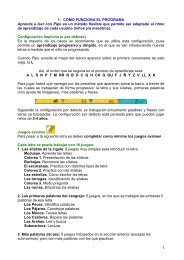 1 1. CÓMO FUNCIONA EL PROGRAMA Aprende a leer con Pipo es ...