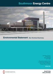 Environmental Statement Non-Technical Summary - Peel