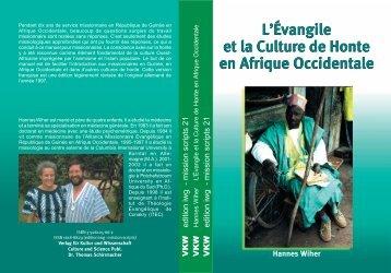 L'Évangile et la Culture de Honte en Afrique Occidentale L'Évangile ...