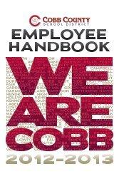 Employee Handbook - Cobb County School District