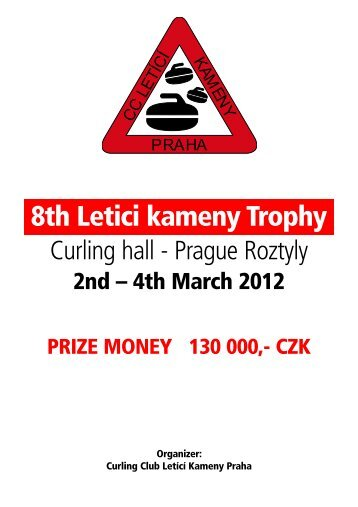8th Letici kameny Trophy - Curling Club Düsseldorf
