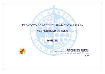 Plan de Accesibilidad Universal - Universidad de Jaén