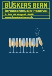 Buskers Bern Programmheft 2013 – online Version