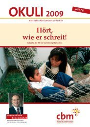 OKULI 2009 - Christoffel-Blindenmission