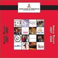 2008 AR 2007 - Junior League of Minneapolis