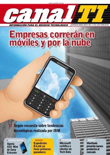 Empresas correrán en móviles y por la nube - Canal TI