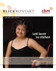 Helfen Sie mit! - Christoffel-Blindenmission