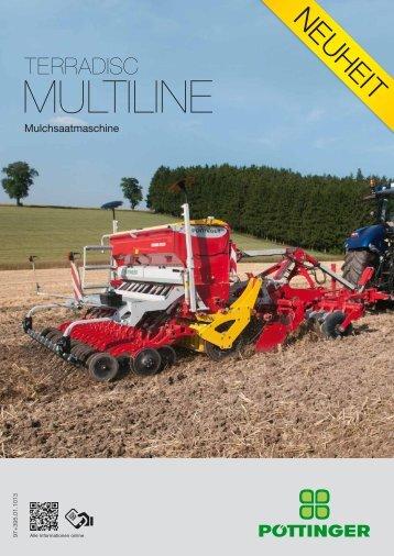 terradisc multiline - Alois Pöttinger Maschinenfabrik GmbH