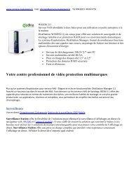 Votre centre professionnel de vidéo protection multimarques