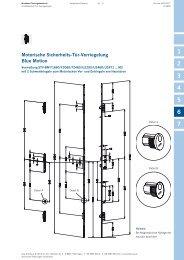 Motorische Sicherheits-Tür-Verriegelung Blue Motion - Winkhaus