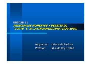 """""""corto"""" s. xx latinoamericano (1930-1990) - Páxinas persoais - USC"""