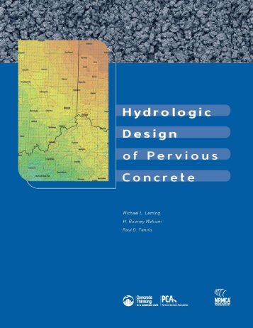 Hydrologic Design of Pervious Concrete - RMC Research Foundation