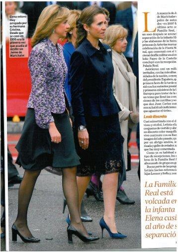 La Reina en defensa de Letizia - Aguilar