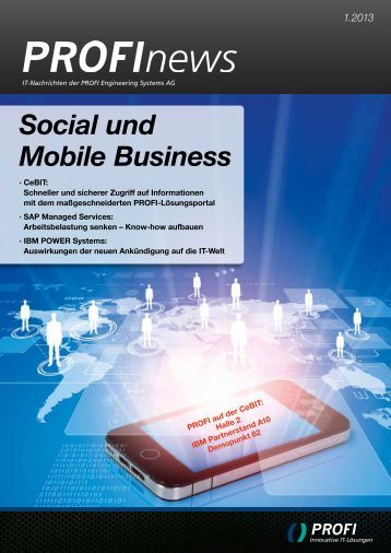Social und Mobile Business - PROFI Engineering Systems AG
